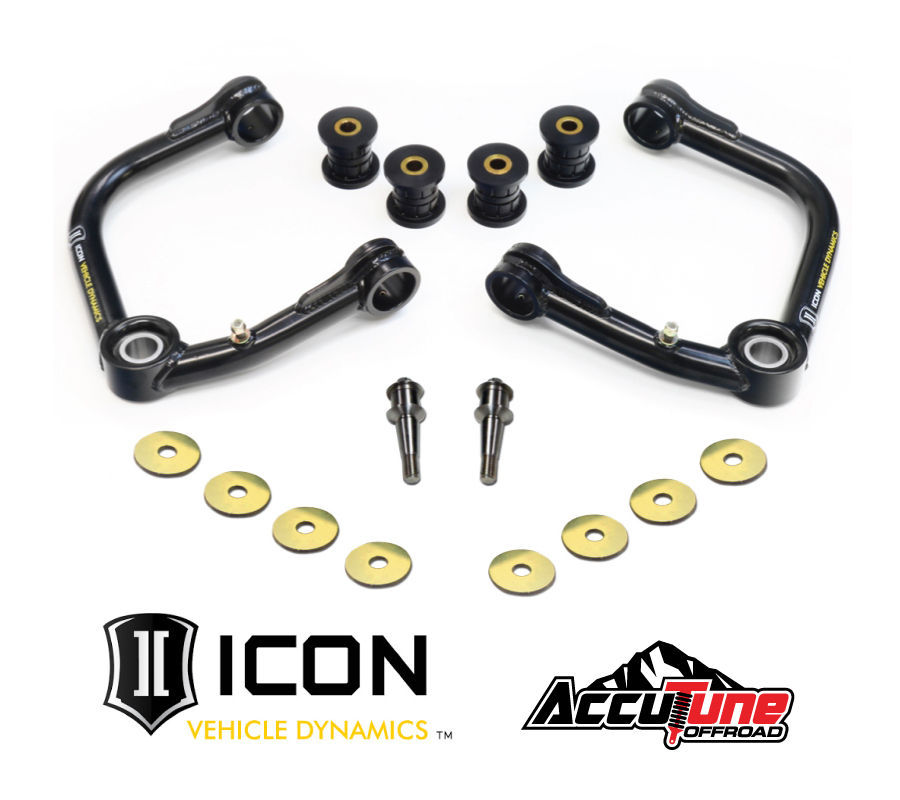 Icon Vehicle Dynamics 2005-up-toyota-tacoma-uniball-upper-control-arm-kit