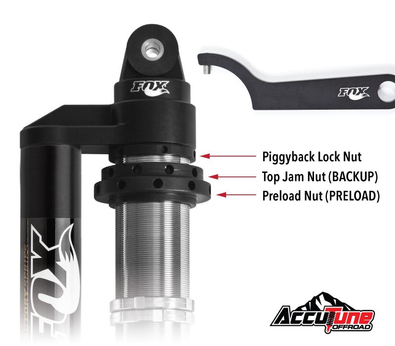 Fox 2.0 Spring Preload Spanner Wrench Kit