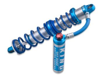 2.5 King Coilovers, Compression Adjuster - Remote Reservoir