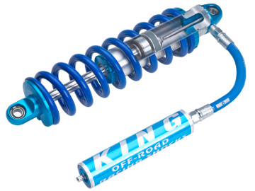 King 2 5 Coilover, Internal Bypass, Remote Reservoir, With Springs - 14