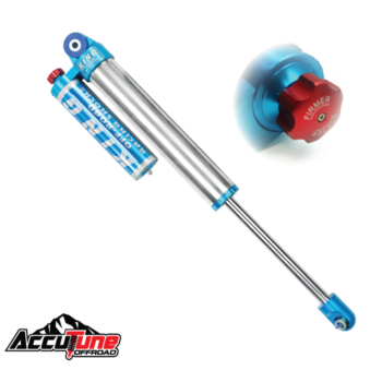 2.5 King Smoothie Shocks, Compression Adjuster - Piggy Back