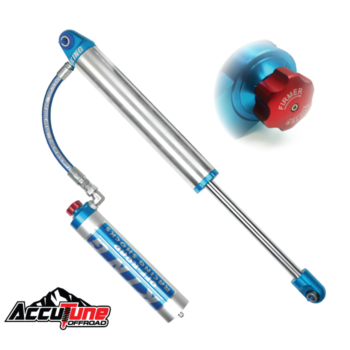 2.5 King Smoothie Shocks, Compression Adjuster - Remote Reservoir