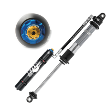 2.0 Fox Coilovers, Race - Rotating Remote Reservoir, DSC