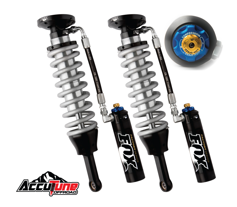 Fox 2.5 Factory Series Coil-Over Reservoir - DSC Adjuster Shocks For Toyota Tundra 2017-2007