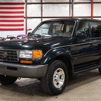 Toyota Land Cruiser 80 Series 1997-1989
