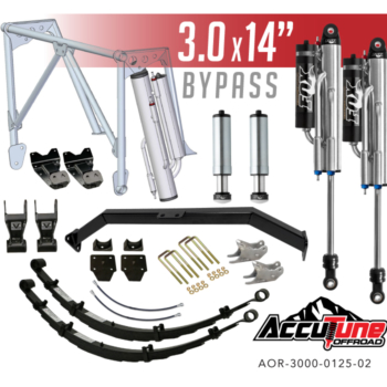 Stage 3 – Rear Long Travel Kit for 05+ Tacomas