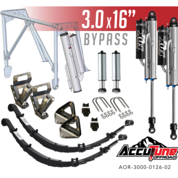 Stage 4 – Rear Long Travel Kit for 05+ Tacomas