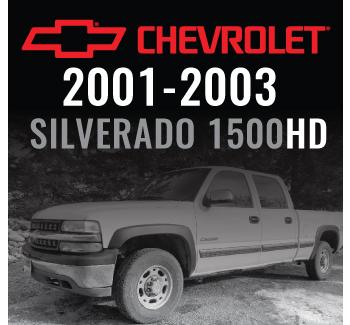 Chevrolet Silverado 1500HD 2001-2003