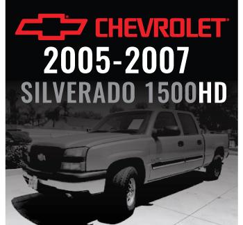 Chevrolet Silverado 1500HD 2005-2007