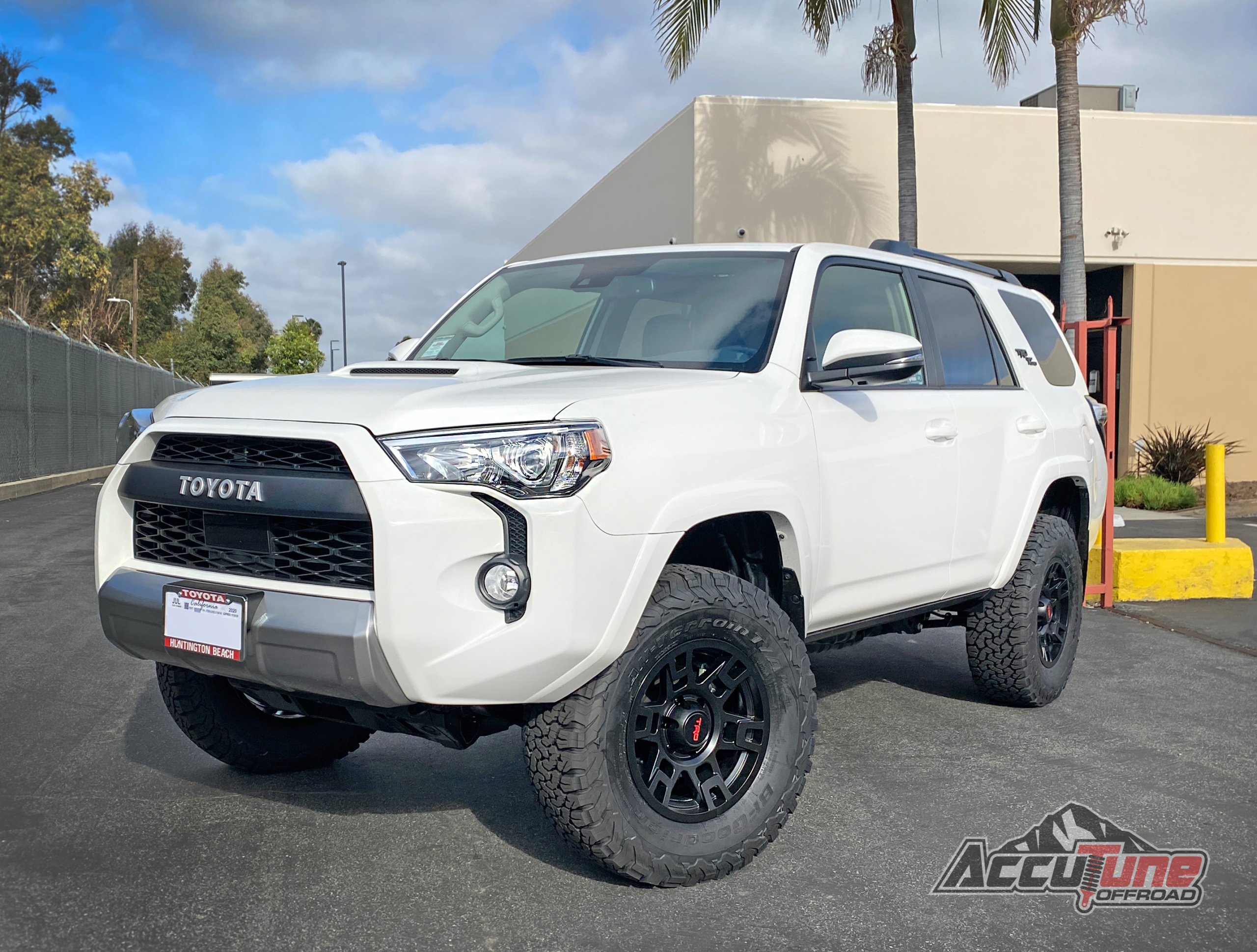 03 4runner And 10 Fj Cruiser Mid Travel Suspension Kit Icon Rear Lift Spring Stage 2 Fox Accutune Off Road