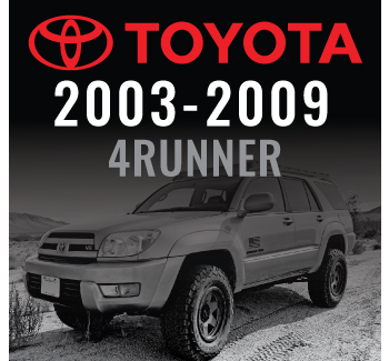 2003-2009 4Runner/2007-2009 FJ Cruiser