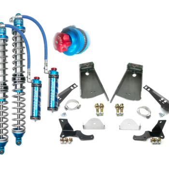 Jeep JL Weld-On Brackets with 2.5 Coilovers