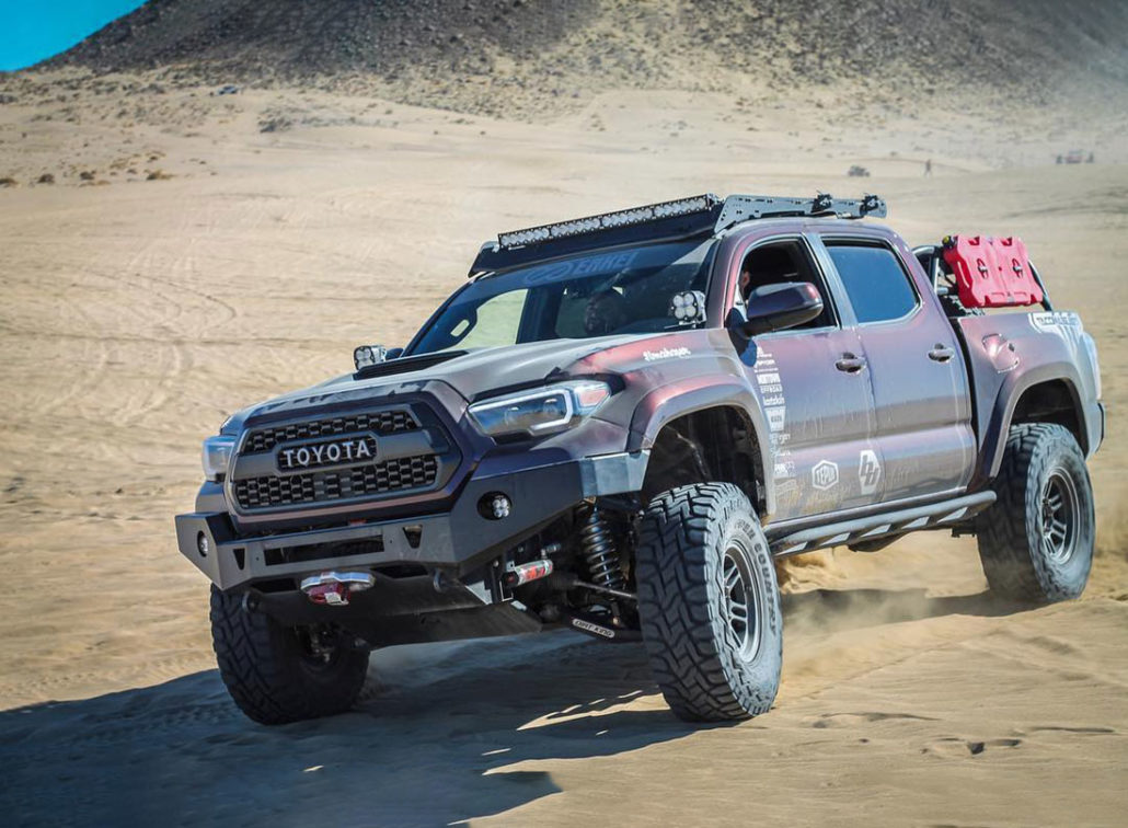 Coilover Spring Rates for Toyota Tacoma & 4Runner | AccuTune