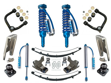 05+ Tacoma Suspension Kit ICON KING Coilovers Archive Garage