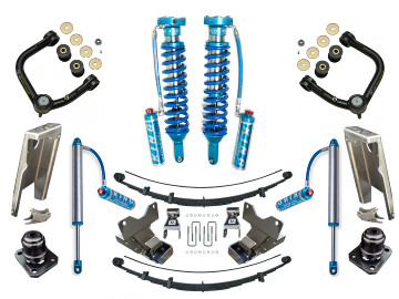 05+ Toyota Tacoma Suspension Lift King 2.5 Coilovers Icon Delta Joint RXT Pack U-Bolt Archive Garage Shock Relocation Hammer Hanger
