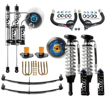 05+ Toyota Tacoma Suspension Lift Fox Coilovers Icon Delta Joint Mini Pack U-Bolt Archive Garage