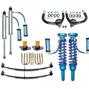 05+ Toyota Tacoma Suspension Lift King Coilovers Icon Delta Joint Mini Pack U-Bolt Archive Garage