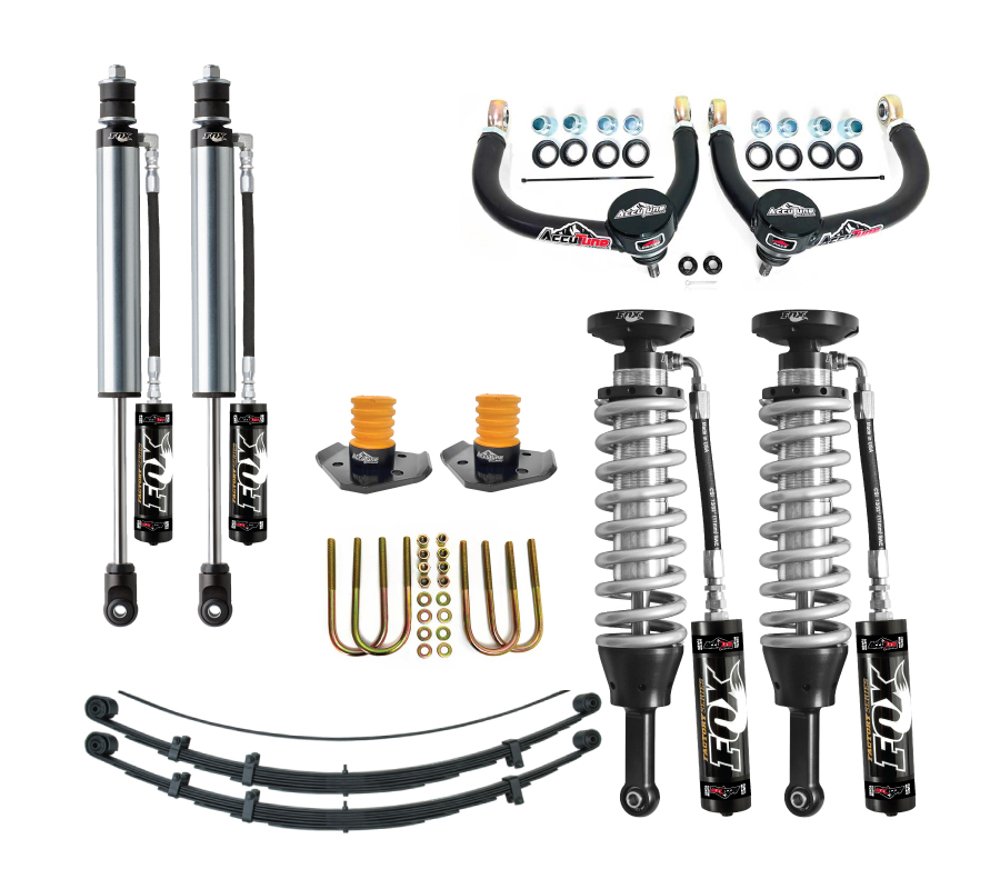 Fox Suspension Lift Kits >> 05 Tacoma Mid Travel Suspension Kit Stage 4 Fox Accutune Off Road