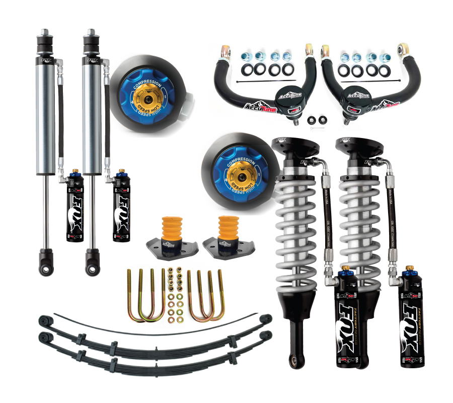 05  tacoma mid travel suspension kit  stage 4a