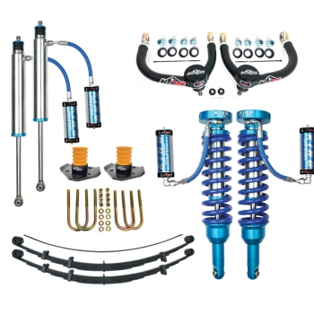 05+ Toyota Tacoma Suspension Lift King 2.5 Coilovers Icon Delta Joint RXT Pack U-Bolt Archive Garage