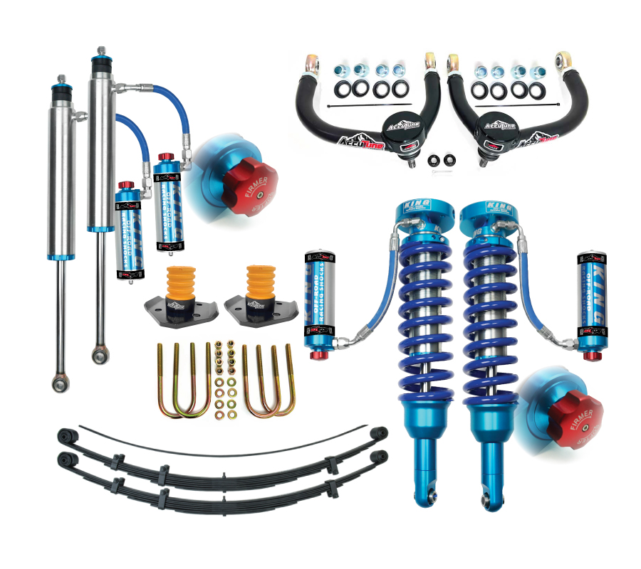05+ Tacoma Mid Travel Suspension Kit, Stage 4A - King
