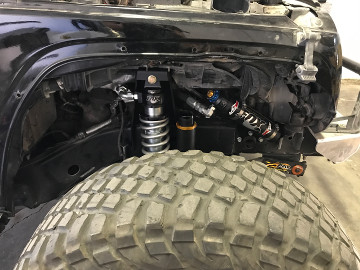 Front Jeep JK Coilover Kit