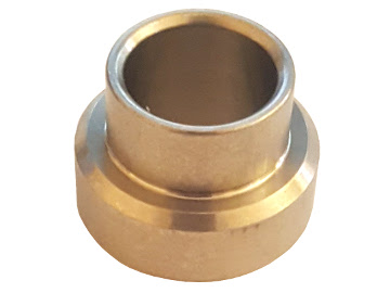 "Fox Bearing Spacer for COM10T Bearing 1/2"" bolt x 1.25"" Wide"