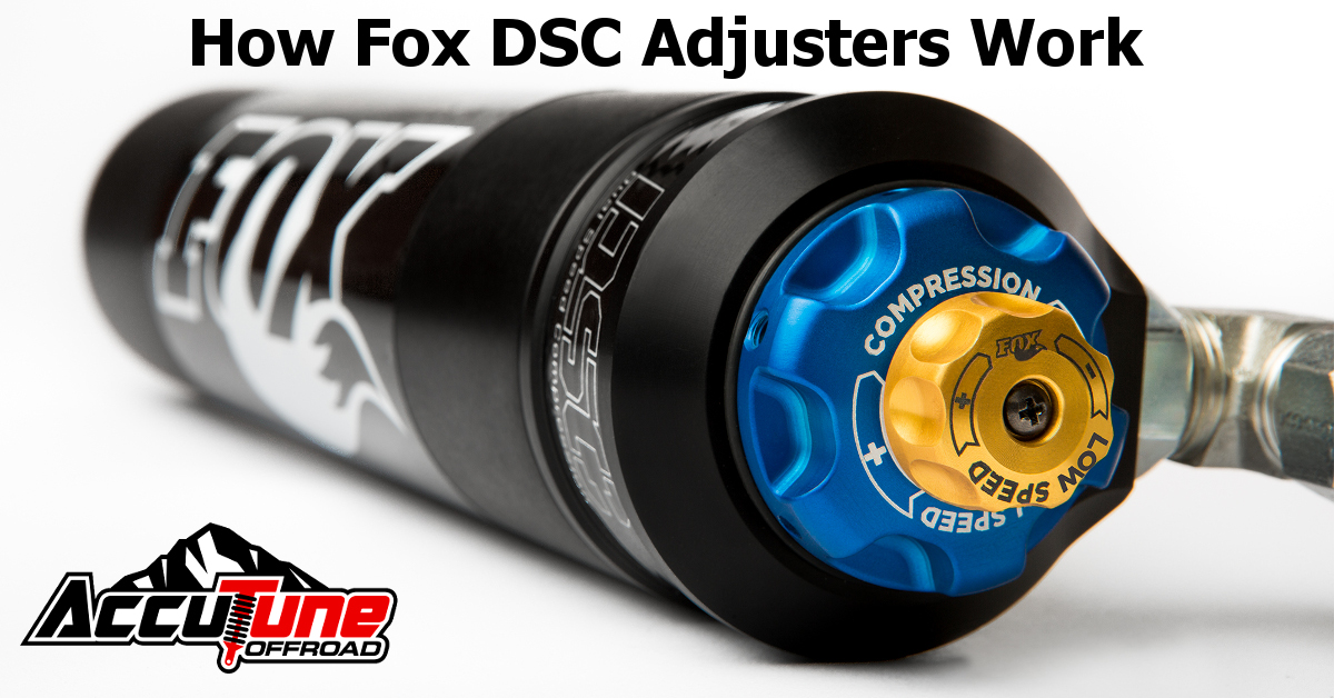 How Fox DSC Dual Speed Compression Adjusters Work - With DATA