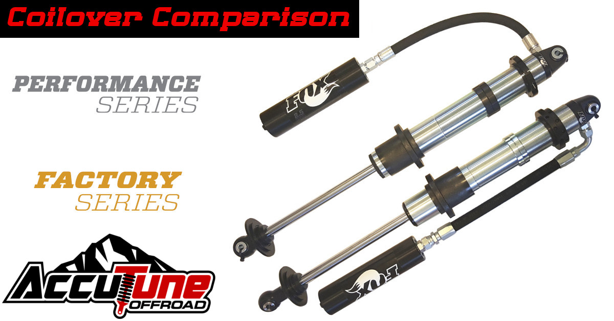 Fox 2 5 Performance Series vs Factory Series | AccuTune