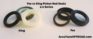 King vs Fox 20 Coilover Seals