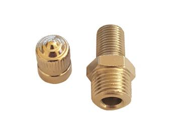 sway-a-way shock schrader valve npt 2.0 2.5 3.0 shocks