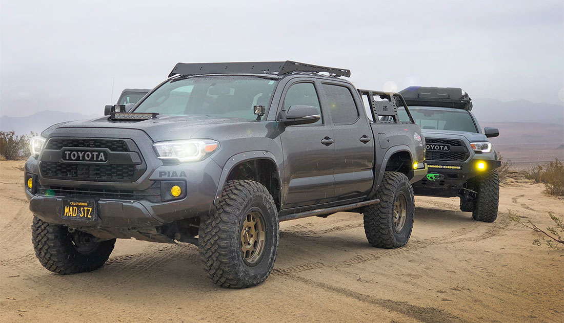 Coilover Spring Rates for Toyota Tacoma & 4Runner | AccuTune Off-Road