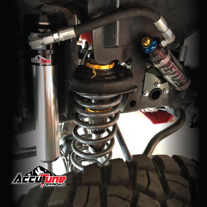 Fox Shock Kit: 07-ON Jeep JK Front, 2 5 Series, Remote Reservoir, 10 1