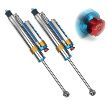 King 2.5 Remote Reservoir Shocks w/Adjusters for 17+ Superduty