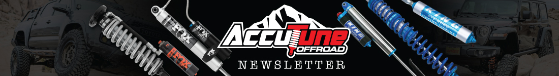 Accutune Offroad Newsletter Signup Page
